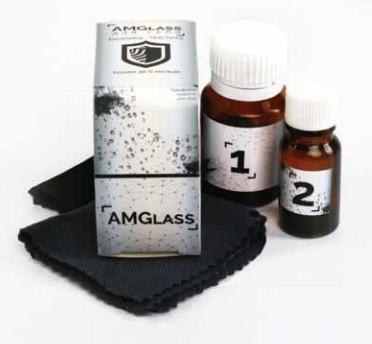 Революционное водоотталкивающие покрытие AM Glass для защиты автостекол
