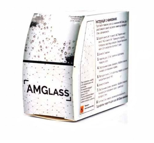 Нанопокрытие автостекла. Антидождь - AM Glass