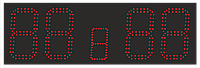 Спортивное табло для футбола 900х300мм