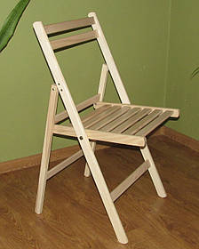 """Раскладной стул """"Компакт"""" (буковый)"""