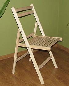 """Розкладний стілець """"Компакт"""" (буковий)"""