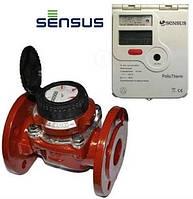 Счетчик тепла Sensus PolluTherm / 2 x WPD 50-15 Ду 50  с двумя расходомерами (Словакия-Германия)
