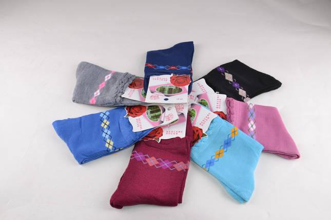 Женские носки с рисунком Ромбик (Aрт. B347), фото 2