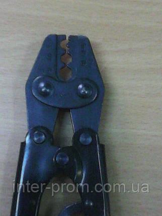 Механические пресс-клещи  ПК-16 для опрессовки кабельных наконечников и гильз, фото 2