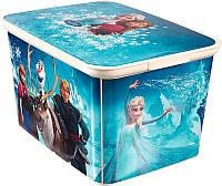 Ящик для хранения детский Frozen L, Curver 222329