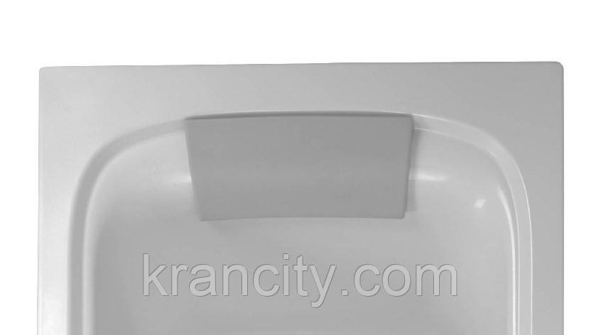 Подголовник для ванны Jacob Delafon Elite E6D061-MN серый,гелевая подушка,Франция