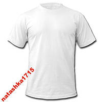 Мужская футболка 100% хб белая Amigo L