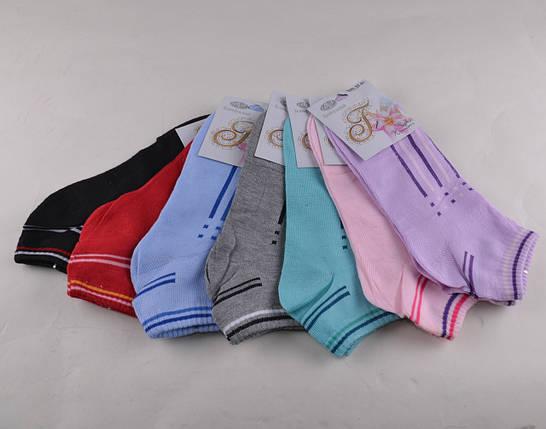 Женские носки заниженные разных цветов (E070) | 12 пар, фото 2