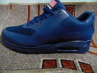 Мужские повседневные кроссовки AIR MAX 90 темно-синие, фото 1