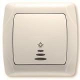 Кнопочный выключатель с подсветкой