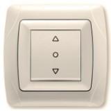 Кнопочный выключатель управления жалюзи
