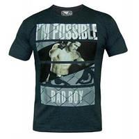 Мужская футболка с принтом BAD BOY NEWS