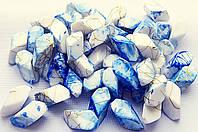 Аксессуары  для  браслетов  керамика  с  росписью  20*8мм