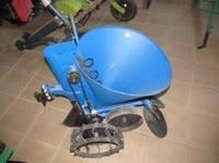 Картофелесажалка для мотоблока полтавская с транспортировочными колесами