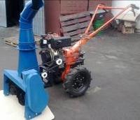 Снегоуборщик для мотоблока Зубр НТ-105 и 135/ Кентавр МБ2060 и их аналогов под задний вал отбора мощности
