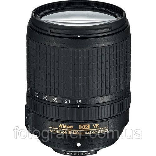 Объектив Nikon AF-S 18-140mm f/3.5-5.6G ED-IF DX VR / в магазине