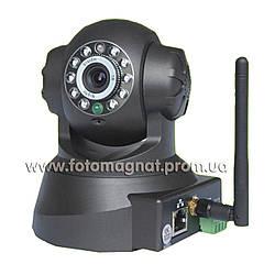 IP камера  WI-FI T 9818 RW ( ip камера видеонаблюдения)