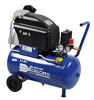 Масляный передвижной компрессор 24л, 230В/50Гц, вход 222л/мин, 8бар, 1.5 кВт, 220В, 26кг CECCATO FC2/24.