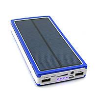 Power Bank 10000 LED с солнечной батареей