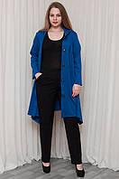 Модное платье-кардиган застежка 5 больших пуговиц, фото 1