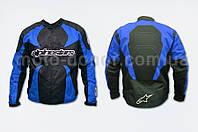 """Мотокуртка текстиль   """"ALPINESTARS""""   (size:L, синяя)"""