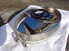 Овальный люк для емкостей из нержавеющей стали под давление, фото 3