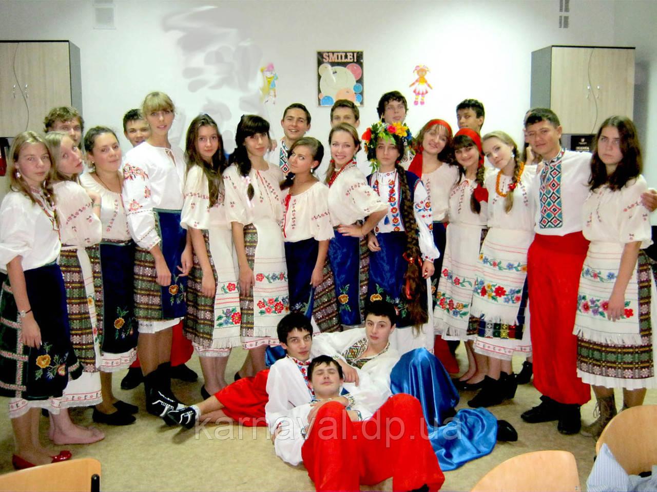 """Костюмы """"Украинские национальные"""" напрокат"""