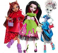 Ляльки Monster High Страшні Казки Scarily Ever After