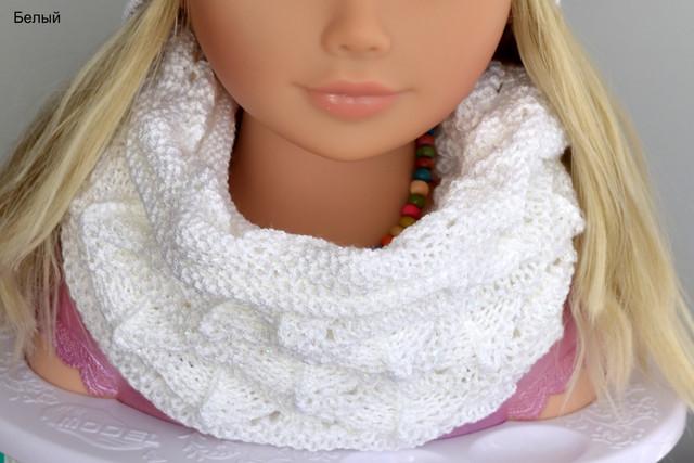шарф весенний