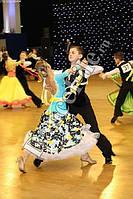 Платье для бальных танцев - стандарт для Юниоров 1 (без камней)