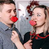 """Расписной пряник """"Поцелуйчик"""", фото 2"""