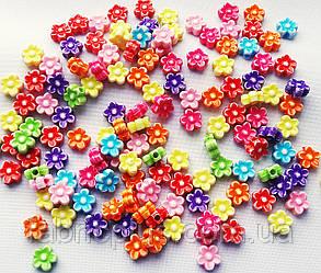 Аксессуары  для  браслетов  8мм  цветочек