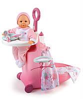 Кукольный набор Smoby Раскладной чемодан Baby Nurse 24032