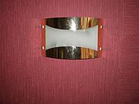 Бра для прихожей и ванной комнаты на две лампочки  P3-9110/2W/FG+WT (5шт. - ящ.)