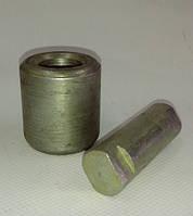 Ось с роликом колодки КАМАЗ (пр-во Ливарный завод)