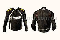 """Мотокуртка текстиль   """"YAMAHA""""   (mod:1, size:L, черная)"""