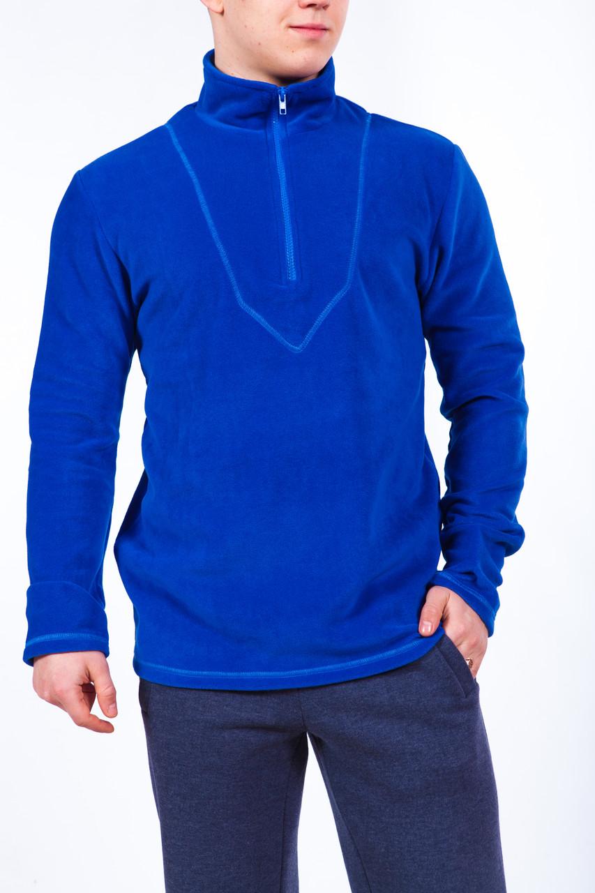 Bono Флисовый джемпер синий 300127