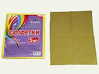 Салфетка кухонная визкозная FreePack 40х40 (5шт)