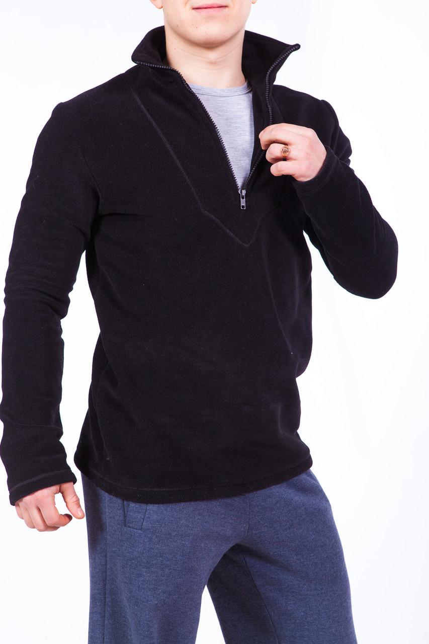 Bono Флисовый джемпер черный 300101
