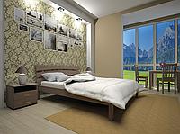 Кровать из натурального дерева Домино 3