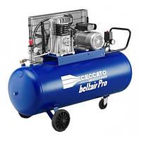 Компрессор масляный 230/50 объем ресивера 90л., вход 393л/мин., 10бар, 2.2 кВт, 69кг BELTAIR PRO 100C3MR.