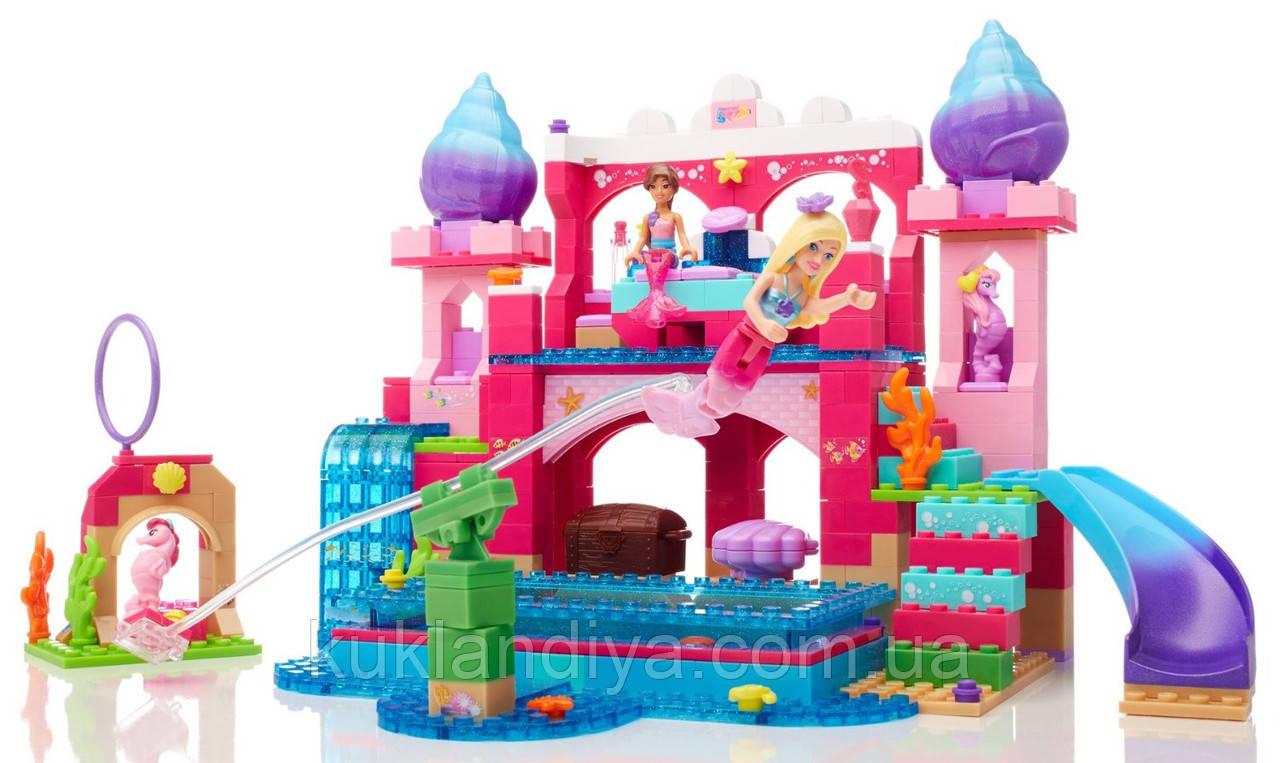 Конструктор Mega Bloks Barbie Подводный замок