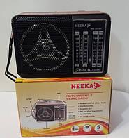 "Радио ""NEEKA"" NK-202AC 5 диапазонов FM/TV/MW/SW1-2, фото 1"