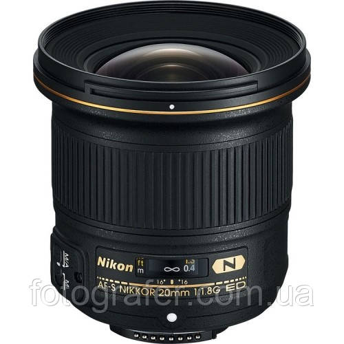 Объектив Nikon AF-S 20mm f/1.8G ED ( на складе )