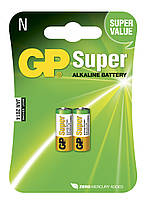 Батарейка GP 910A-U2 Super alkaline LR1 AM5 N MN9100 1,5V (блистер)