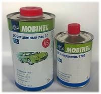 Лак акриловый (MOBIHEL) 2K V5 2:1 1л + отвердитель 7700 0,5л (не требует разбавителя)