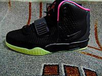 Мужские повседневные кроссовки Nike Air Yeezy 2 SP черные 40-46