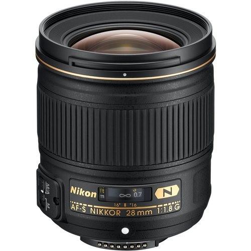 Об'єктив Nikon AF-S 28mm f/1.8 G (на складі)