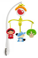 Музыкальная игрушка 60132.00 Подвеска- мобиль Красная шапочка 0 м+