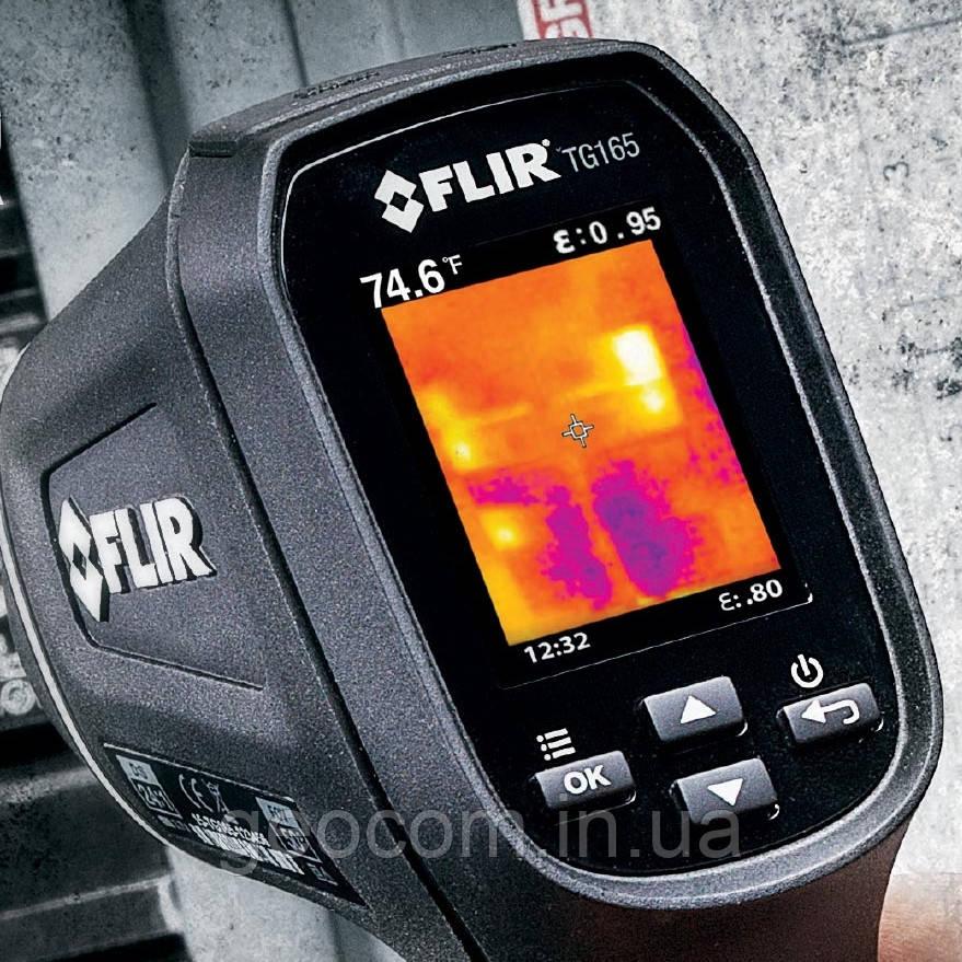 Точечный тепловизионный пирометр термометр TG165 (снят с производства)